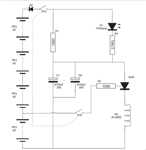 capacitors in a dc circuit capacitor bank schematic diagram get free image about wiring diagram