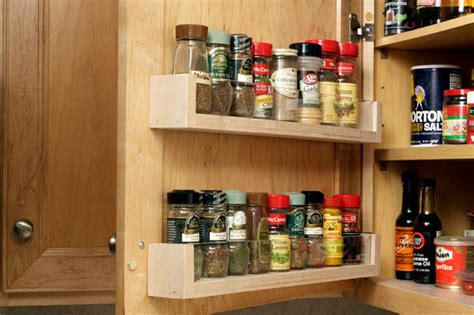 kitchen cabinet door spice rack diy home sweet home 16 ways to add more storage to any home