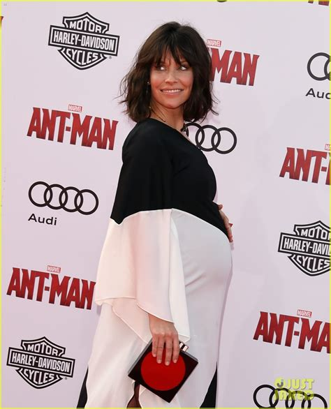 Im To See And Bump by Evangeline Lilly Is See Baby Bump At Ant