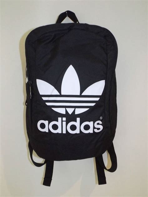 Jual Adidas Mini Backpack mens womens linear vintage style mini adidas originals backpack bag trefoil things to wear