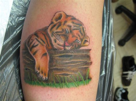 baby tiger tattoo designs 57 baby tiger tattoos ideas