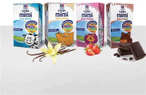 Ultra Mimi Coklat pt ultrajaya milk industry tbk