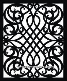 Corian Moulding Scroll Saw Vector Pattern
