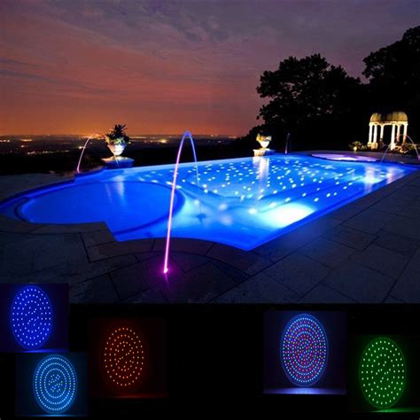 color changing pool light wyzm 120v 35w color changing swimming pool lights led