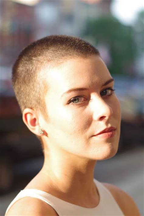 buzzed women haircut 25 best ideas about shaved head women on pinterest