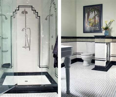 artistic bathrooms art deco bathroom