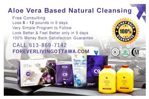 Aloe Vera Gel 9 Day Detox by Forever Living Products Ottawa Aloe Vera Distributor