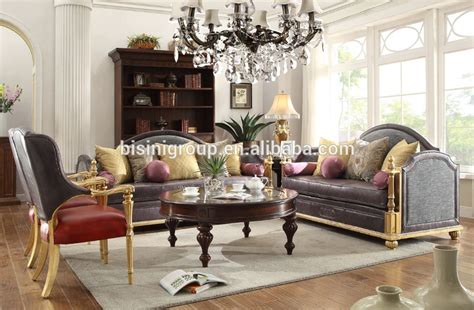 High End Leather Living Room Sets Luxury Italian High End Royal Grey Leather Sofa Set New