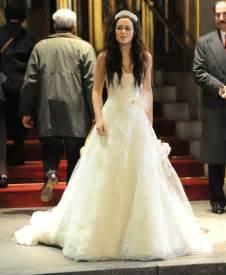 alexis bledel wedding dress norenstore com