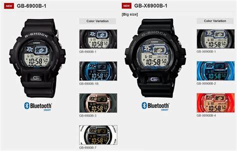 Gshock Gba List Blue casio g shock gb 6900b and gb x6900b bluetooth watches