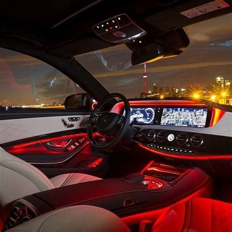 mercedes benz interior lights 14 mb s class and the toronto skyline note the speaker