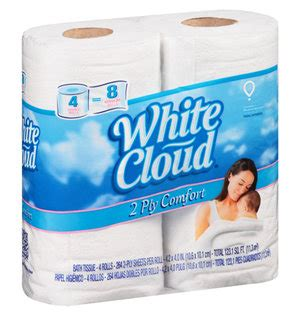 Who Makes White Cloud Toilet Paper - 4 ct pack of white cloud toilet paper only 1 36 at walmart