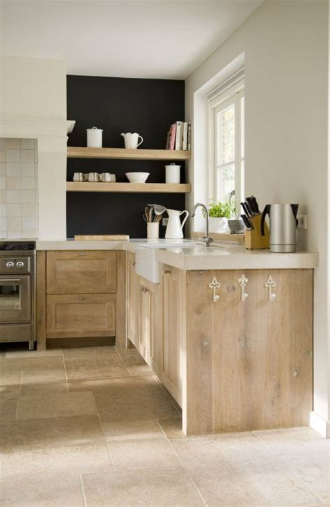 Pickled Wood Kitchen Cabinets Weathered Pickled Oak Kitchen Cabinets And Shelves