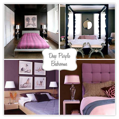 deep purple bedroom fun bedrooms