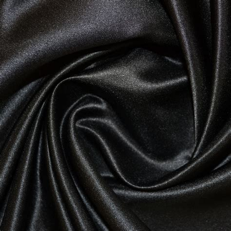 Black Material black duchess satin fabric duchess satin fabrics