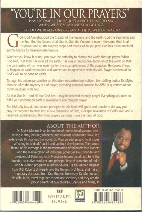 understanding the purpose and power of prayer how to call heaven to earth books understanding the purpose and power of prayer myles munroe