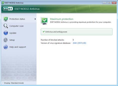 Antivirus Eset eset nod32 antivirus review 4 2 71 2 screenshots