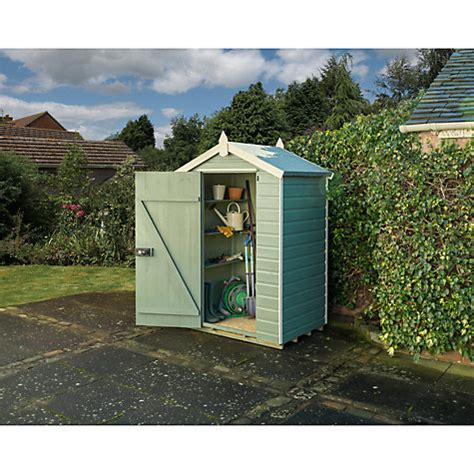 Garden Shed Singapore by Buy Rowlinson Shiplap Apex Garden Shed Willow