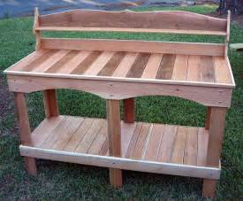 images of potting benches cedar creek woodshop bird house porch swing patio