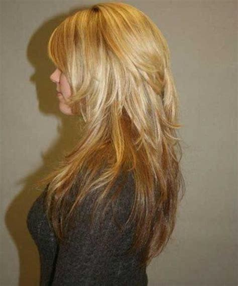 long layers with short on top 15 best ideas of long hairstyles with short layers