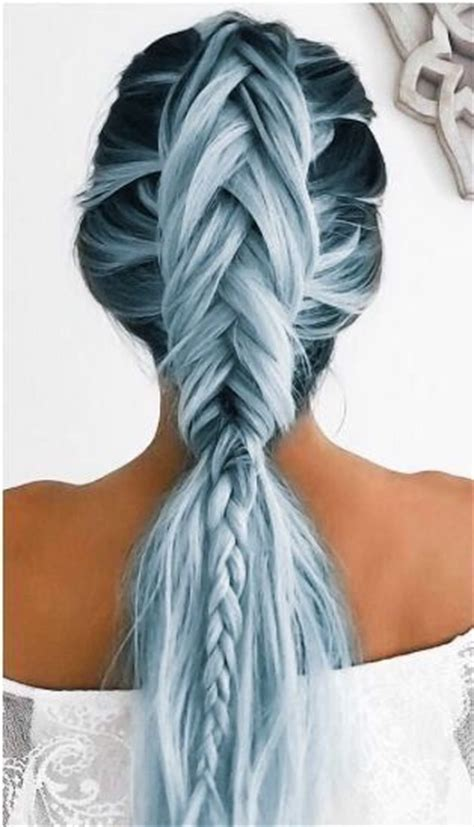 white and blue hair extensions best 25 hair colors ideas on hair