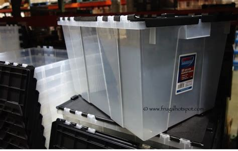 costco crate costco sale solutions commercial crate 12 gallon 5 99 frugal hotspot