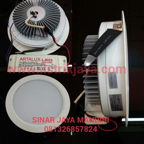 Lu Downlight 23 Watt jual lu downlight led inbow 23 watt artalux sinar