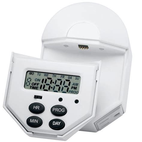 brinks home security indoor digital 7 day 6 event timer