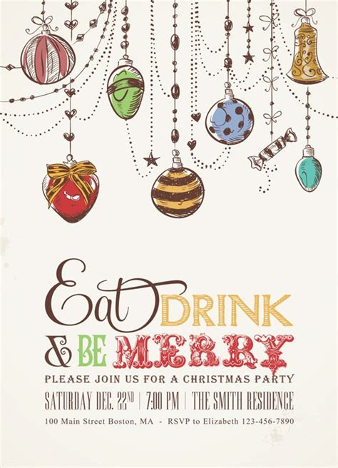 best 10 christmas party invitations ideas on pinterest