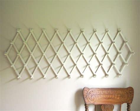Expandable Wall Rack by Vintage 49 Peg Expandable Accordion Wall Rack Accordion Peg
