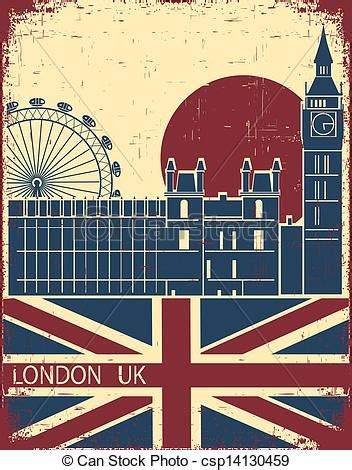 london landmarkvintage background  england flag   paper texture  text