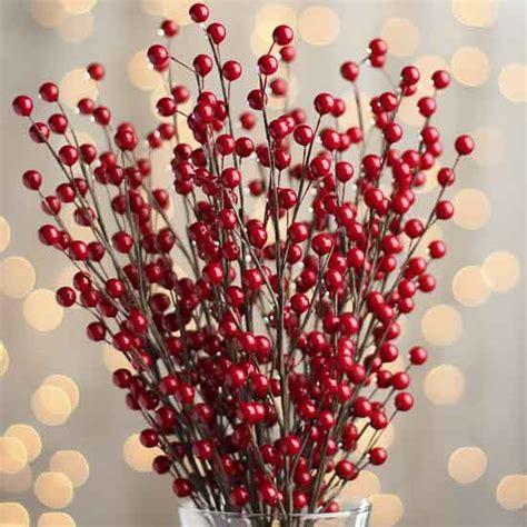 Sprei Sweet Berry Uk 140x200x20 artificial berry sprays pip berries primitive decor