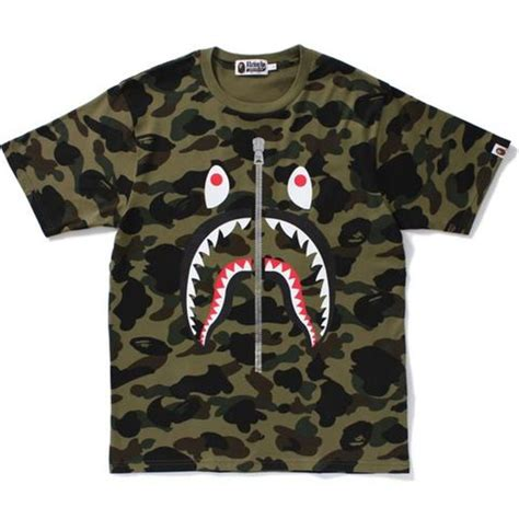 Bathing Ape Tees bape a bathing ape 1st camo shark new size l sold out 648980 from solepro13 at klekt