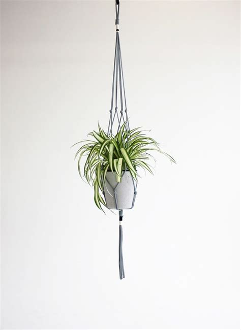 Rope Flower Pot Hangers - 1000 images about rope plant pot hangers on