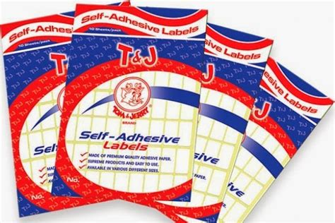 Tom Jerry Label No 113 jual jual label tom jerry self adhesive labels no 103