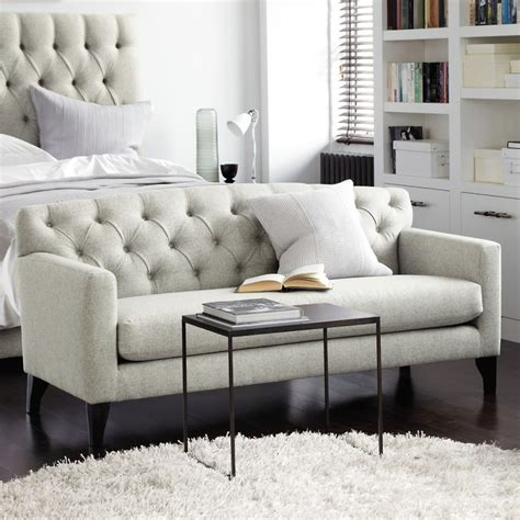bedroom loveseat eaton bedroom sofa seating the white company