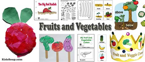 Preschool Activity Book K2 fruits and vegetables preschool activities lessons and