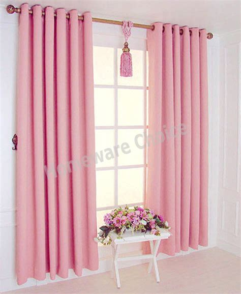 Pink Curtains Ebay Eyelet Blackout Curtain Blockout Curtains Pink 140x230cm