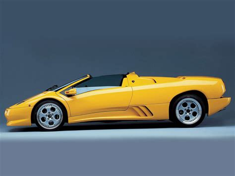 Lamborghini Wallpapers: 1996 LAMBORGHINI Diablo Roadster