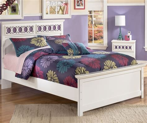 girl full size bed zayley panel bed full size bedroom furniture beds