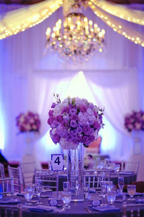 1000 ideas about purple wedding centerpieces on