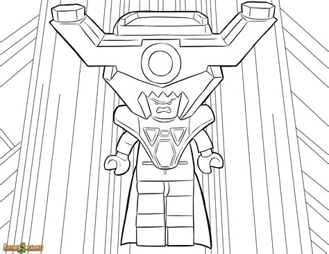 free coloring pages of lego justice league