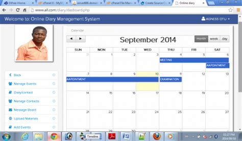 visitor pattern in javascript online diary management system free source code