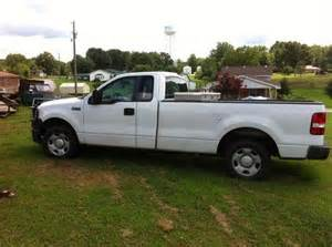 sell used 2007 ford f150 triton 4 6 white nice work truck cold air one owner in tennessee ridge