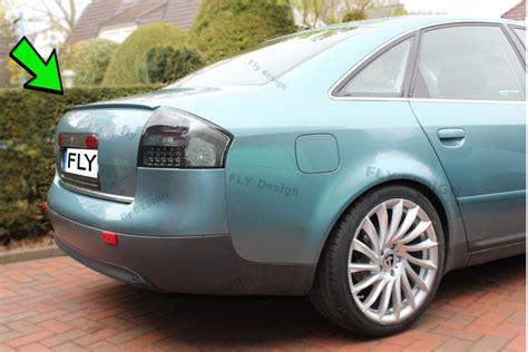Audi A6 C5 Tuning by Audi Tuning A6 B4 C5 Neu Heckspoiler 4b Spoilerlippe