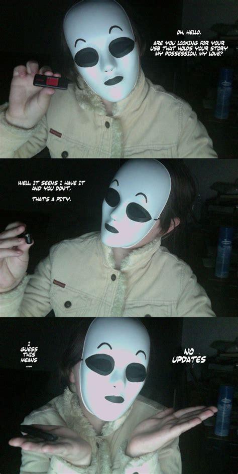 masky stole my usb by akitheshinigami on deviantart