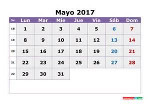 Calendario 2018 Mayo Calendario Mayo 2017 Gratis Calendario 2017