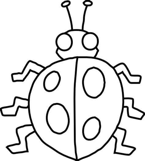 insect templates bug template printable clipart best