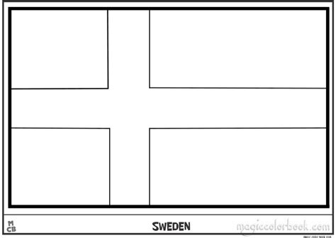 sweden flag colors sweden flag free colouring pages