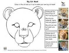 Leopard Mask Template by 1000 Ideas About Mask Template On Masking